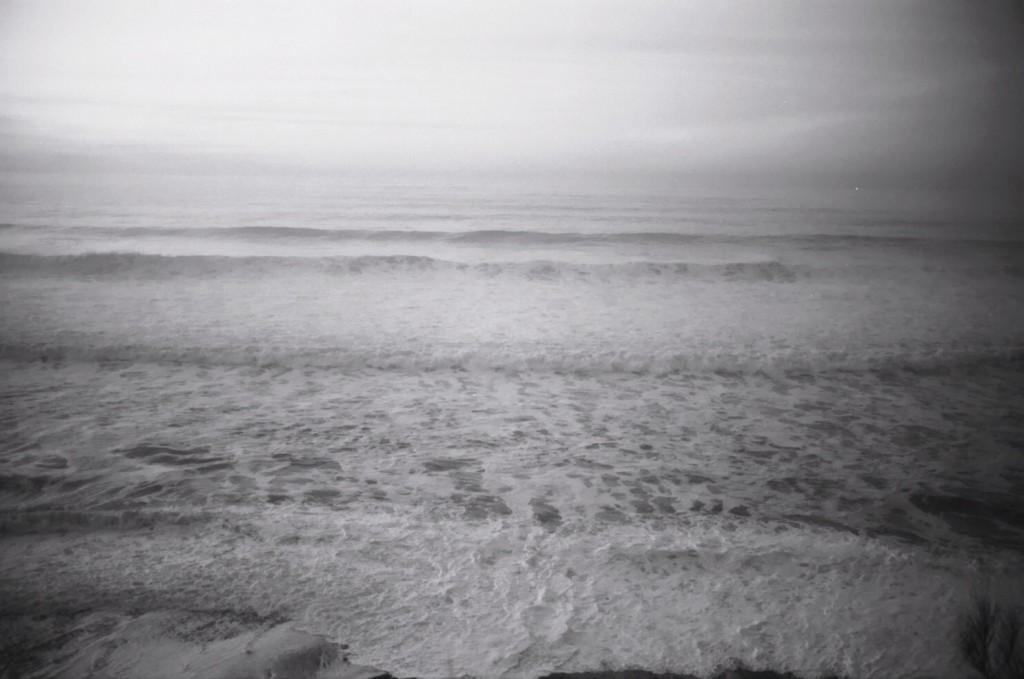 des vagues à perte de vue au pays basque