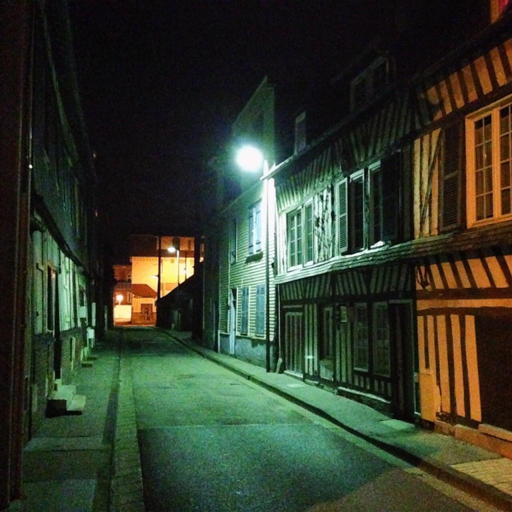 Pont-Audemer la nuit