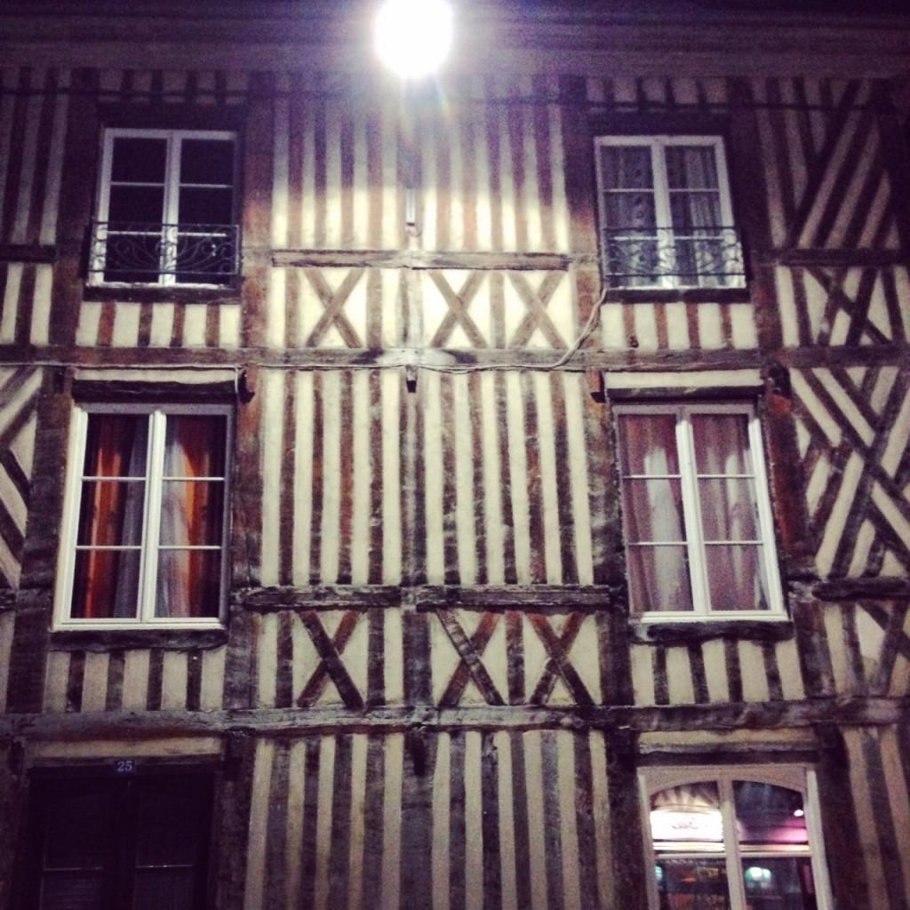 Maison à colombage à Pont-Audemer