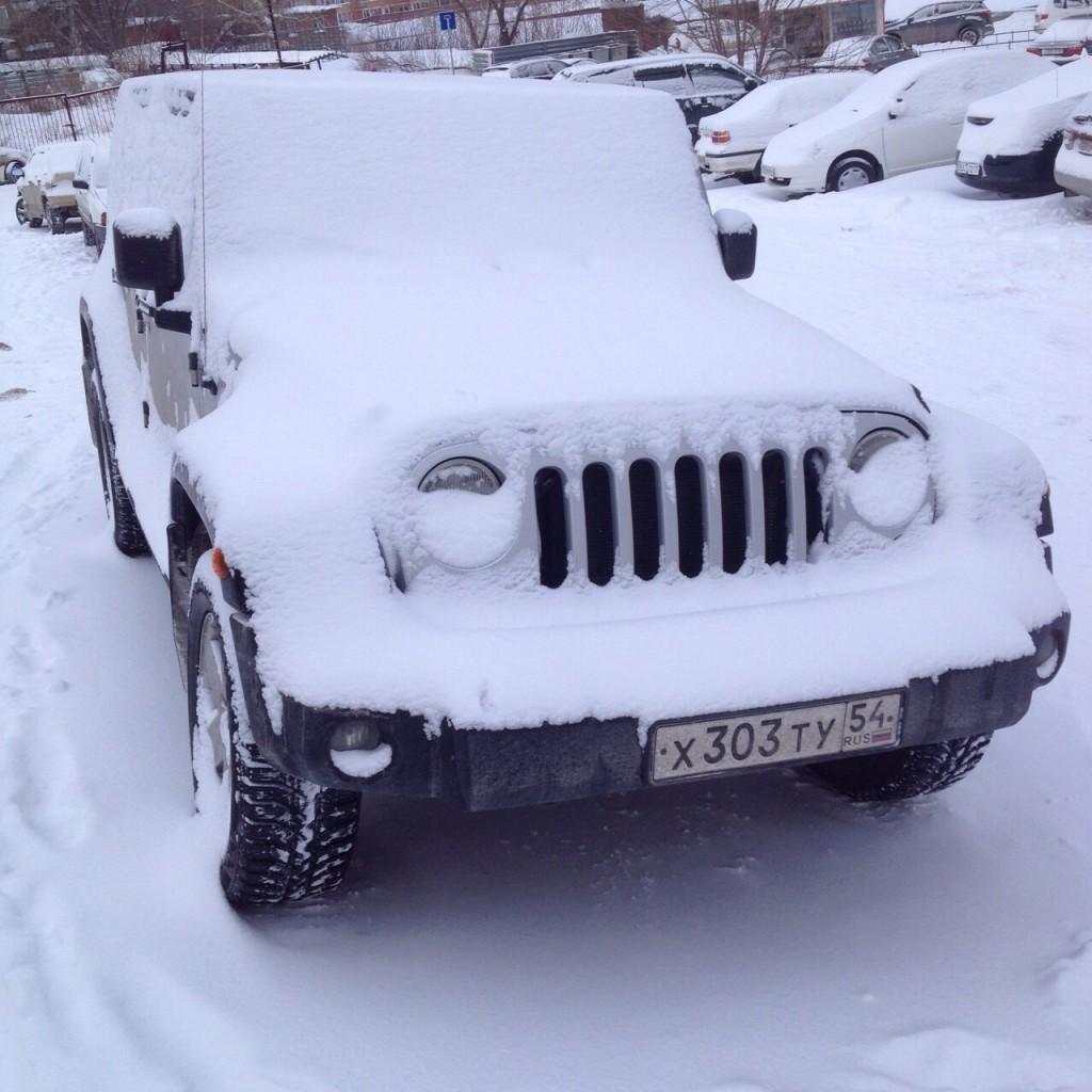 Un 4x4 pour affronter la neige en Sibérie