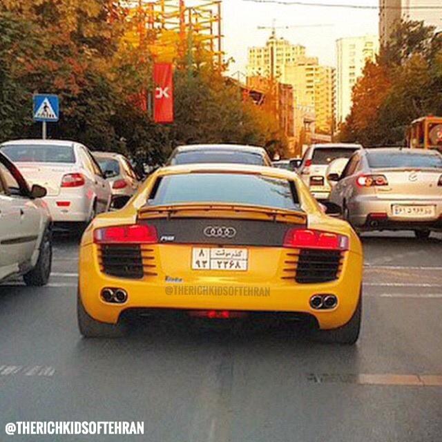 Jeunesse dorée à Téhéran