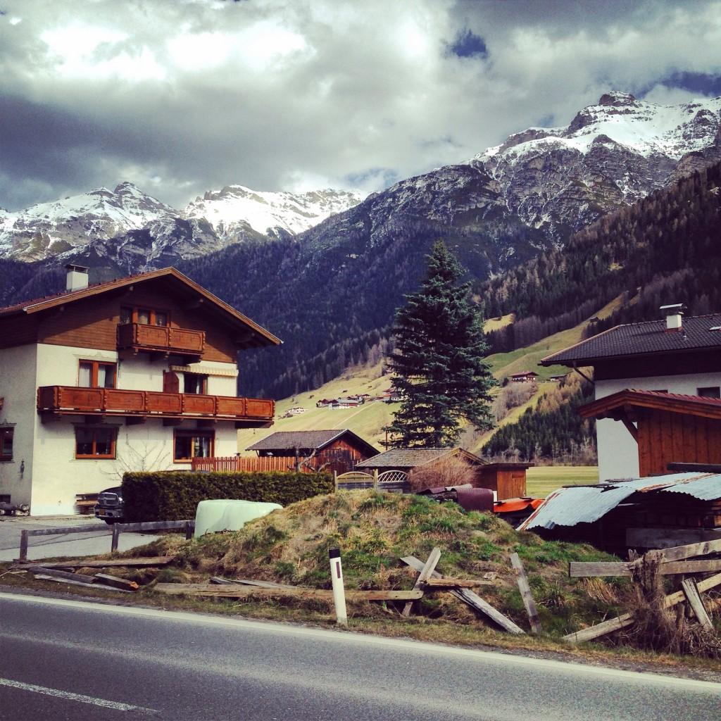 Le Tyrol sous les nuages
