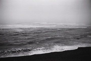 la mer se déchaîne au pays basque