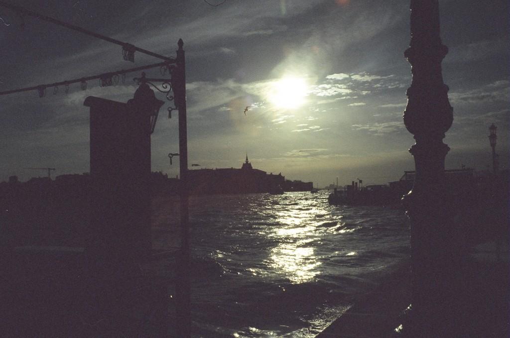 Contre jour à Venise
