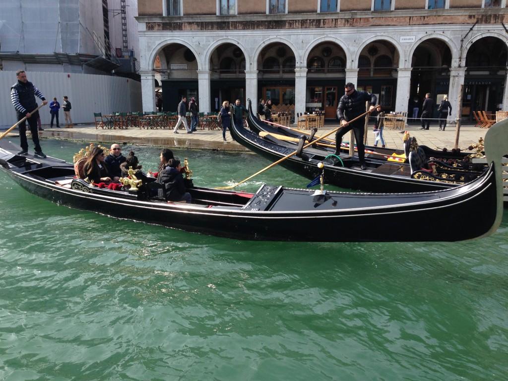Course en gondole à Venise