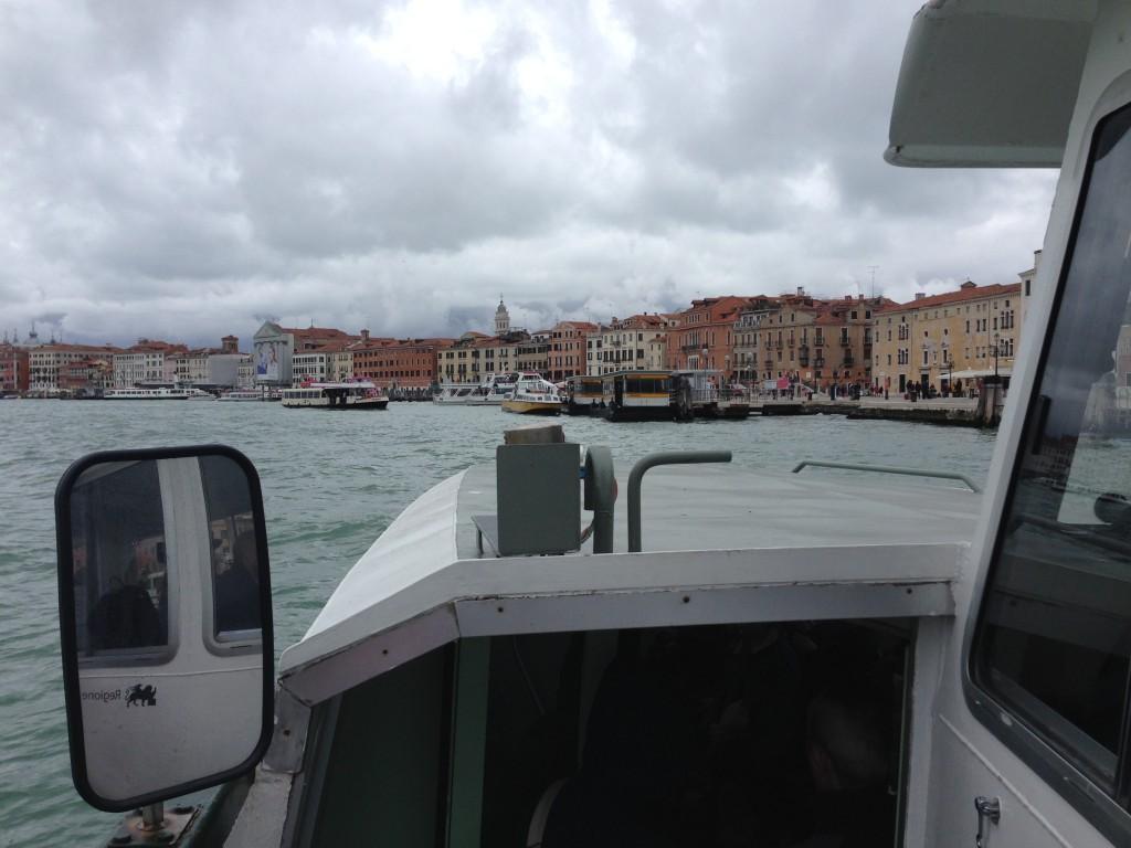 En route vers Venise