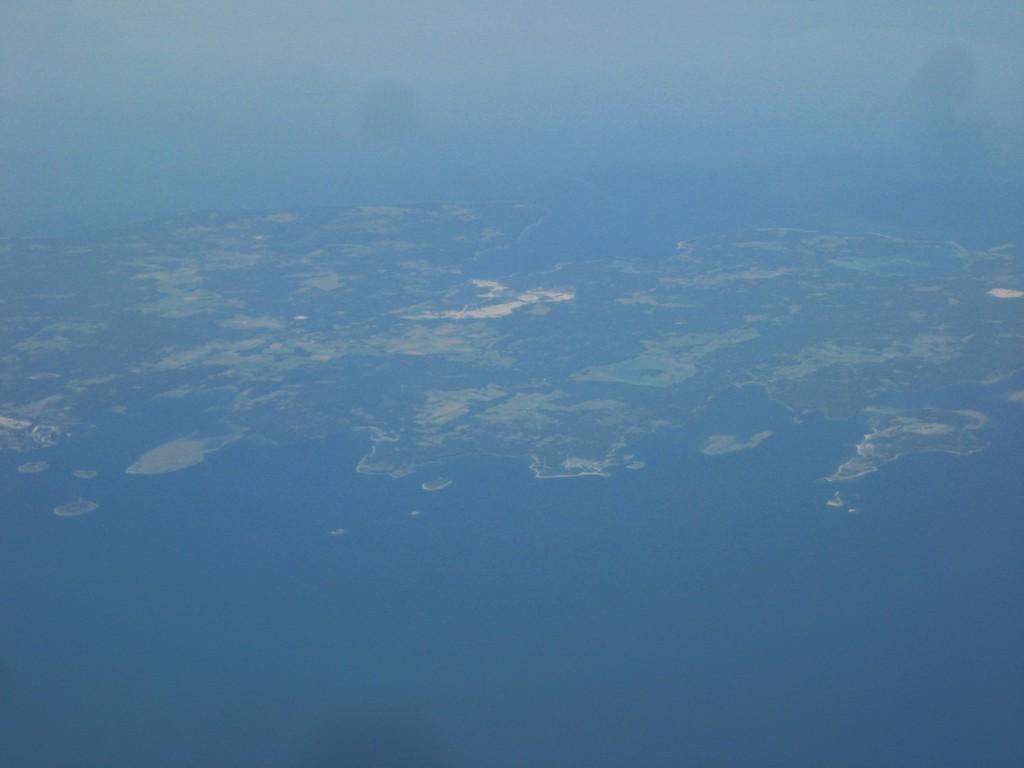 Le Danemark vu du ciel