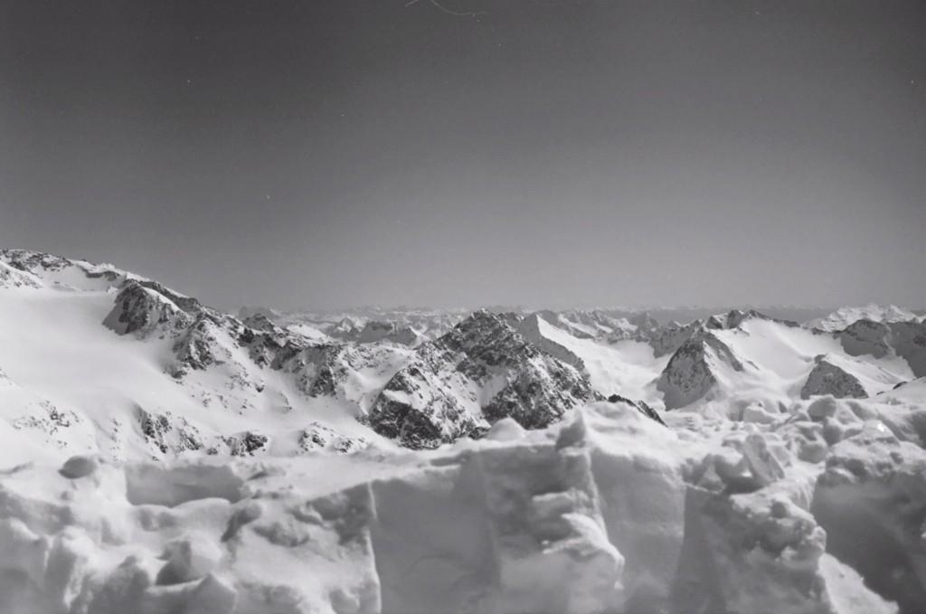 Le glacier du Stubaital en Autriche