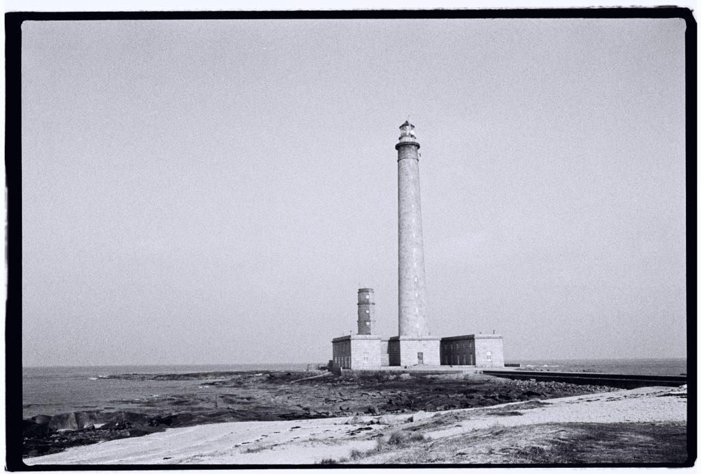 Le phare de Gateville dans le Cotentin