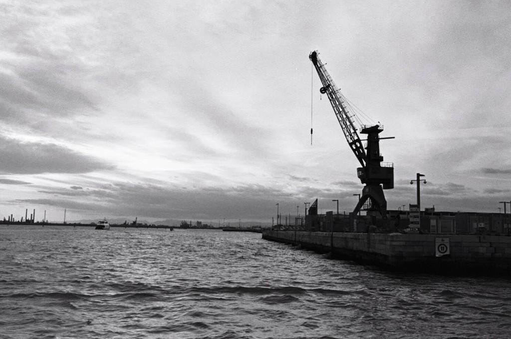 Le port industriel de Venise