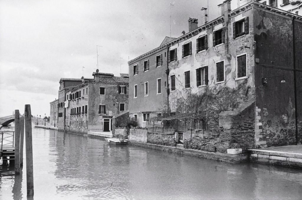 Les canaux menant à l'Arsenal de Venise