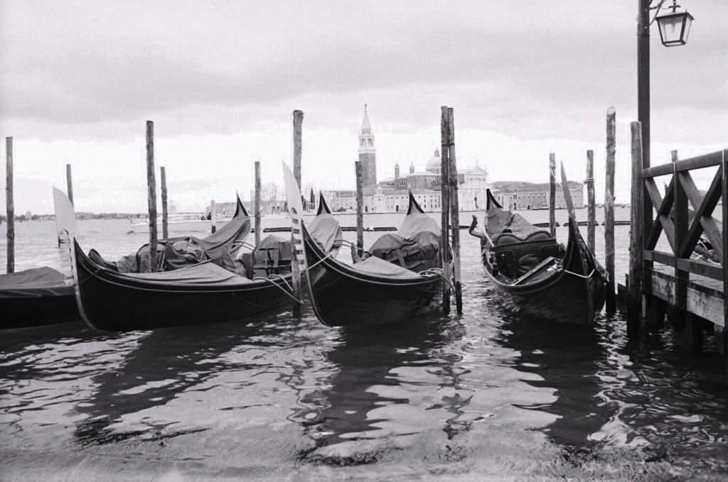 Les gondoles, symbole de la ville de Venise