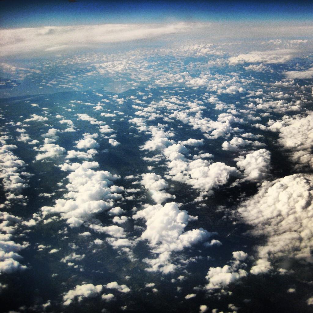 Les nuages vus d'en haut