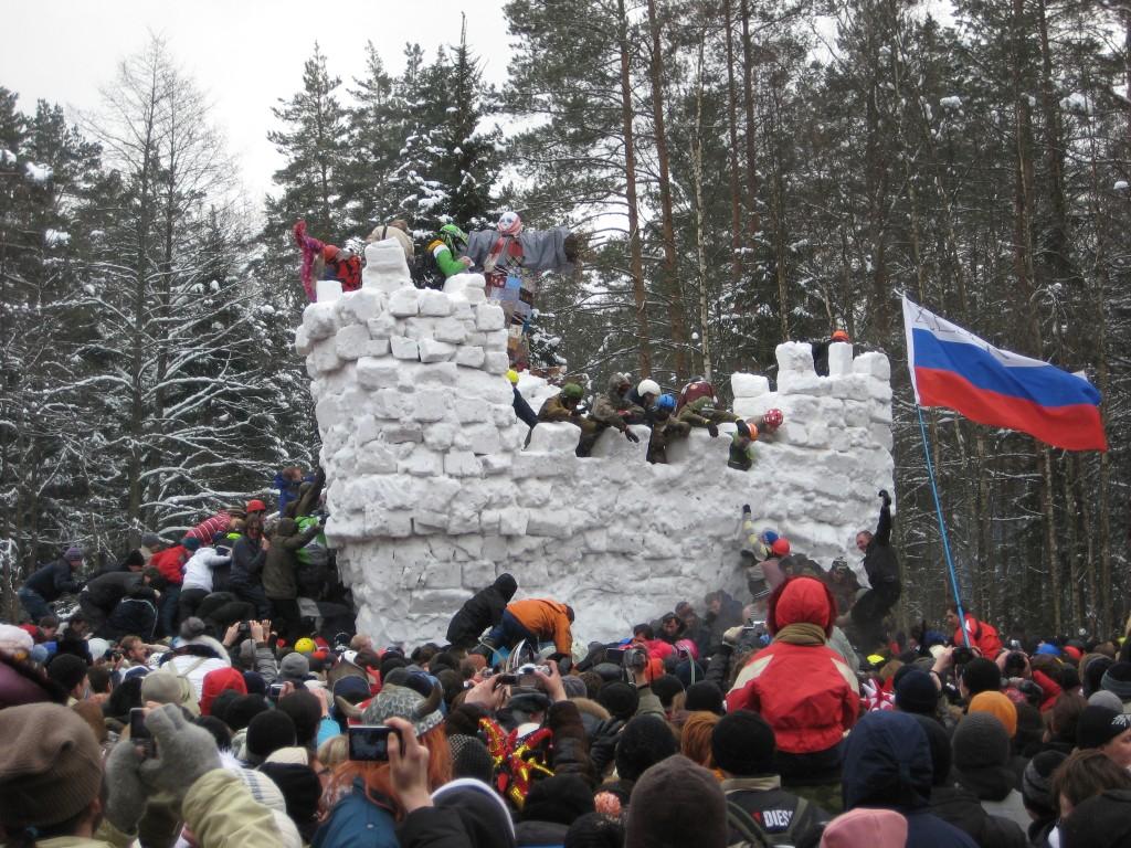Maslenitsa, célébration de l'arrivée du printemps en Russie le 1er mars