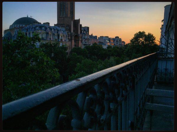 Paris au crépuscule
