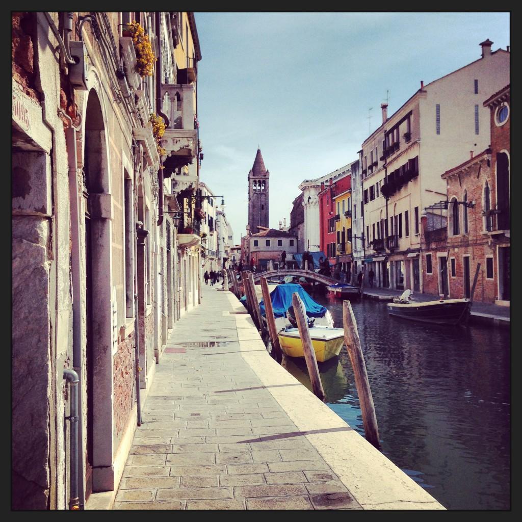47. Perspective typique de Venise