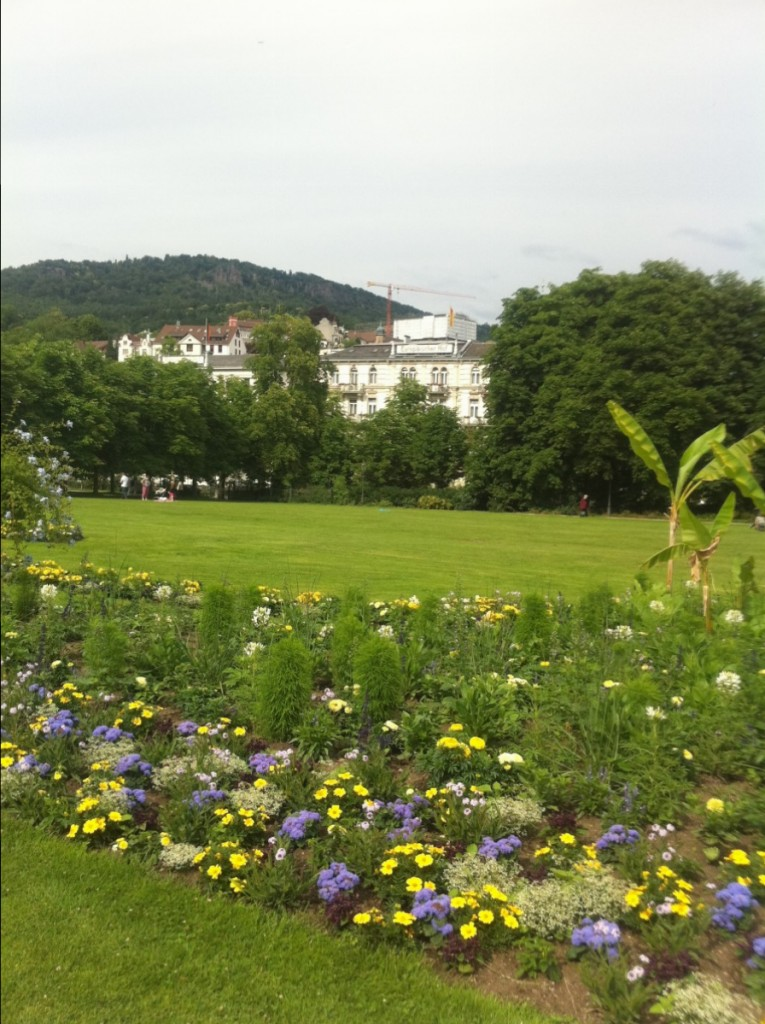 Un air printanier à Baden Baden en Allemagne