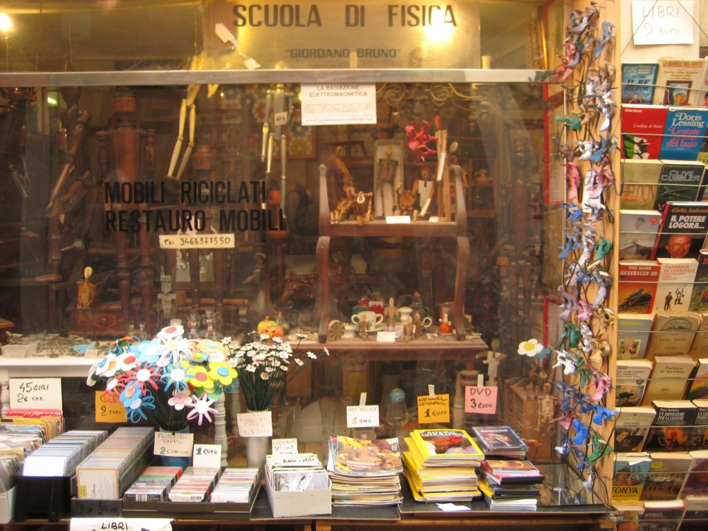 Un des derniers magasins non touristique de Venise