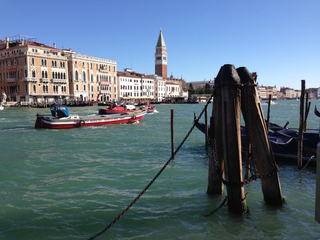 Venise une ville sur pilotis