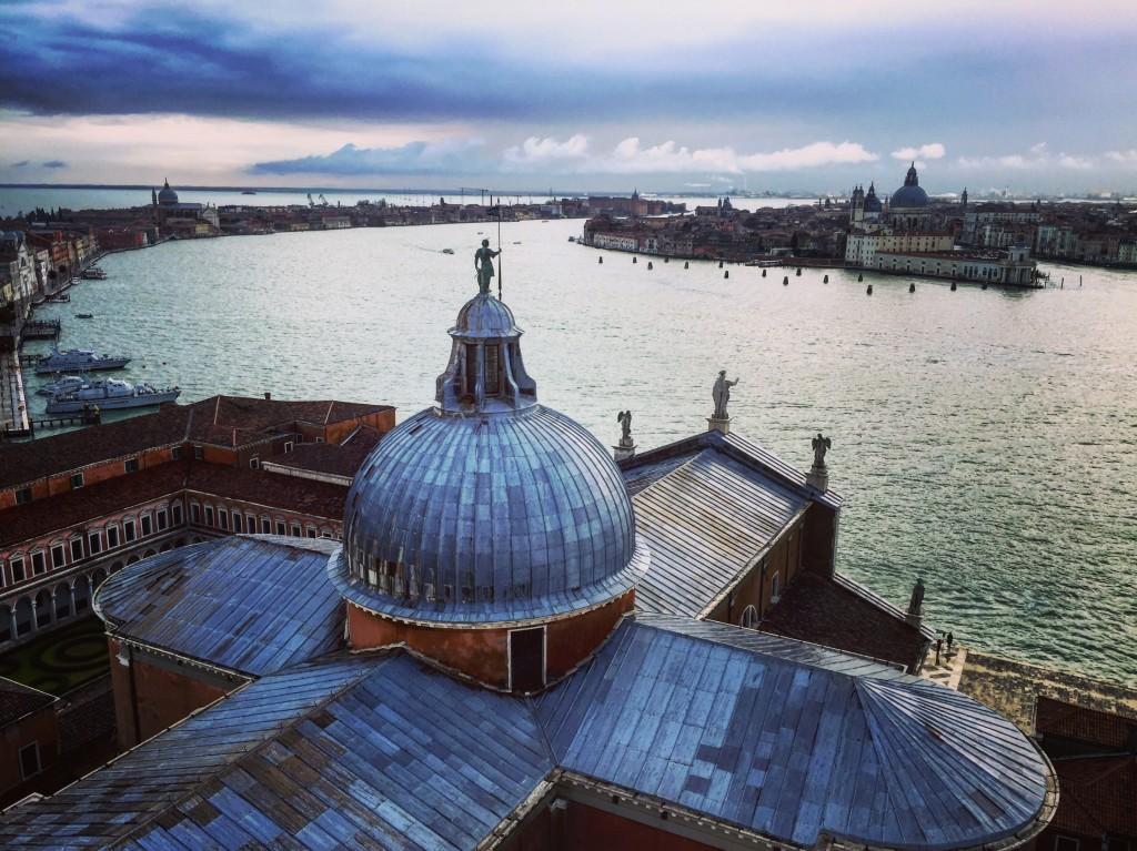 Vue sur Venise en fin de journée