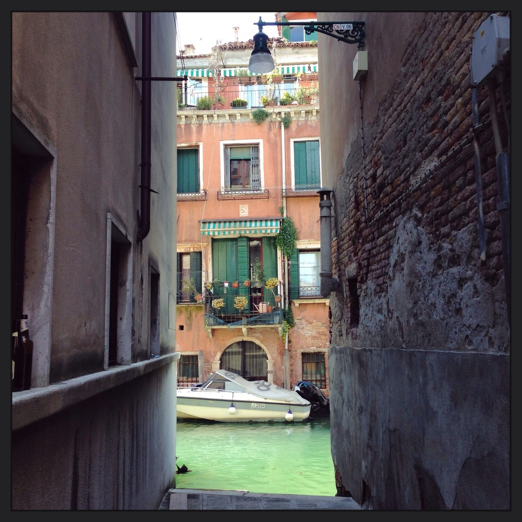 13. Venise est un dédale de ruelles et de canaux