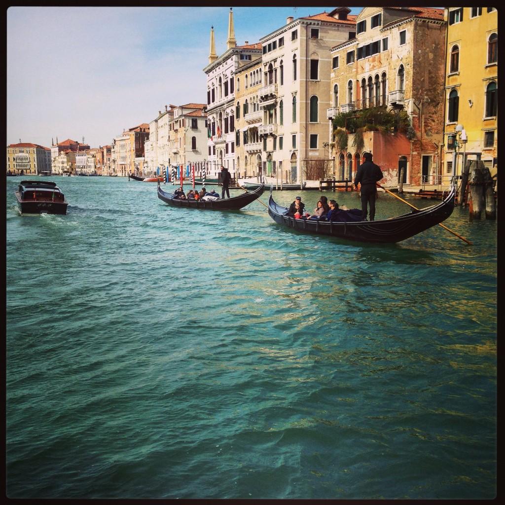 52. Le grand Canal de Venise, majestueux il serpente sur près de 4 kilometres