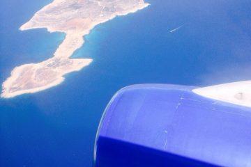 L'arrivée en Crète un moment magique