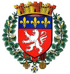 Le blason de la ville de Lyon