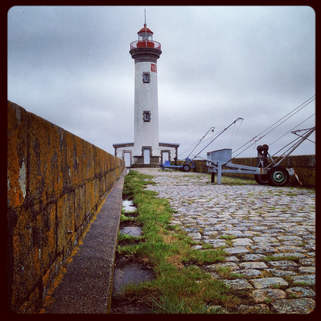 Un phare sur les bords de Loire