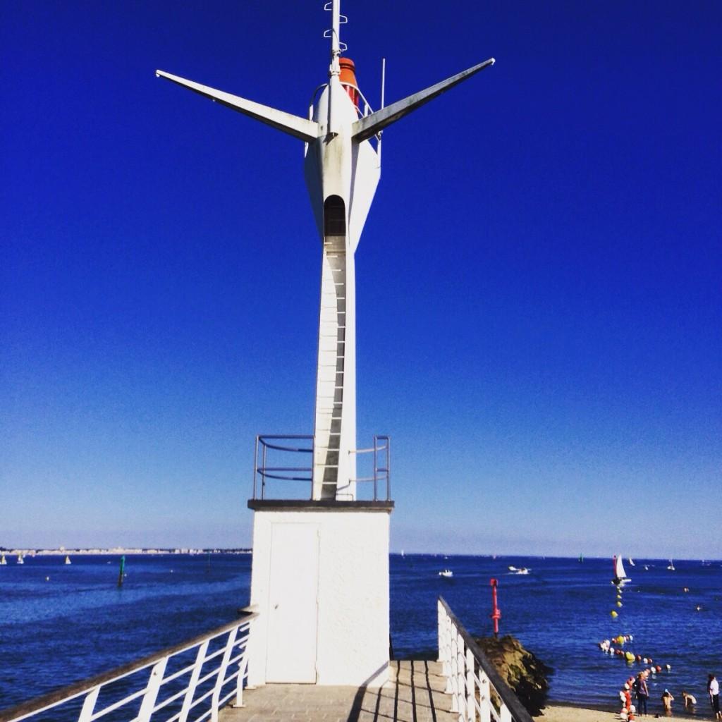 Le phare du port du Pouliguen - La Baule
