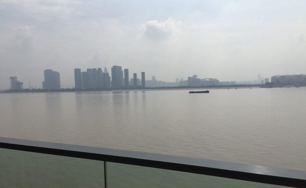 La baie de Hangzhou à proximité de la ville de Ningbo