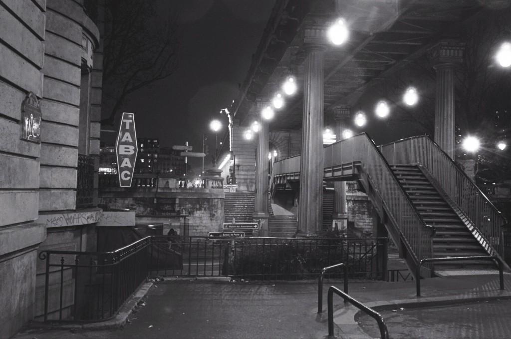 Paris 16 ème arrondissement, la nuit