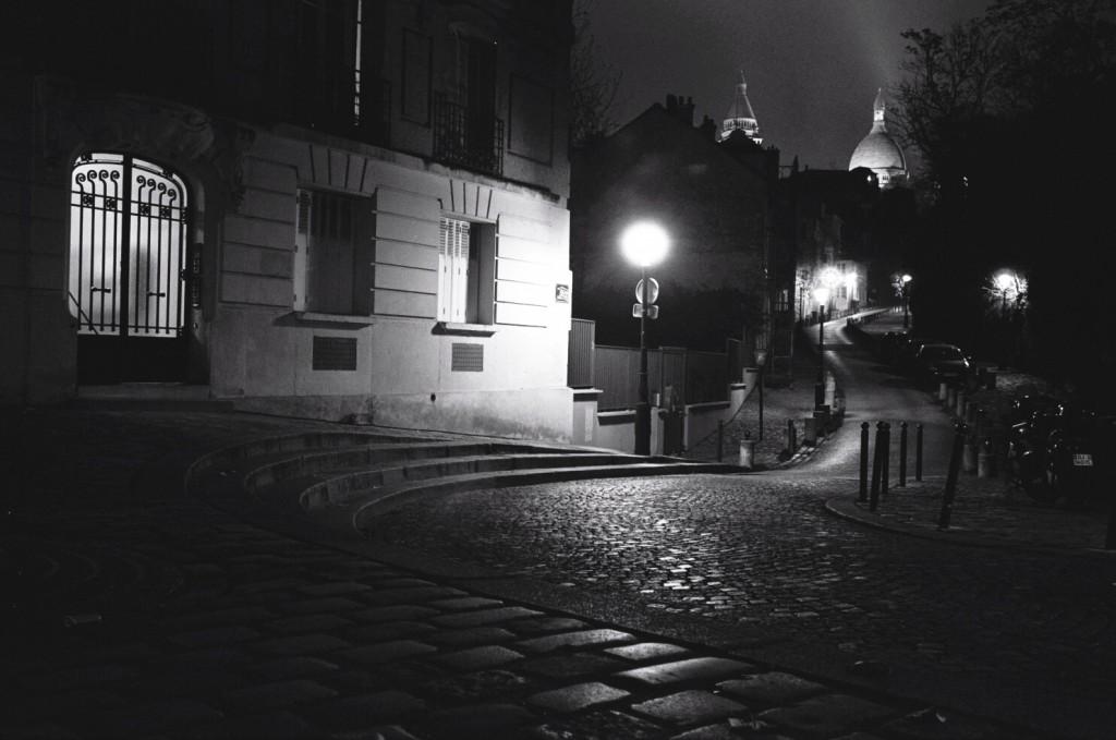 Paris de nuit, Montmartre
