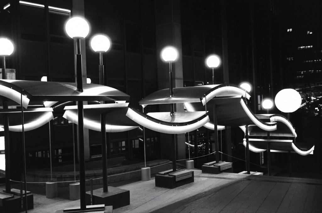 Un éclairage hypnotique à Paris
