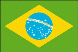 Le drapeau du Brésil