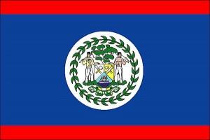 Le drapeau de Belize