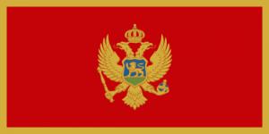 Le drapeau du Montenegro
