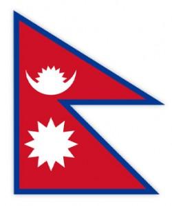 drapeau Népal