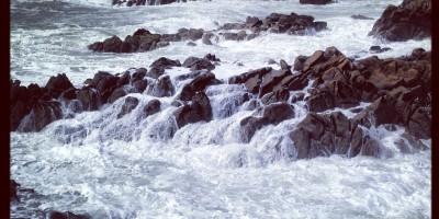 La côte bretonne submergée par une dépression