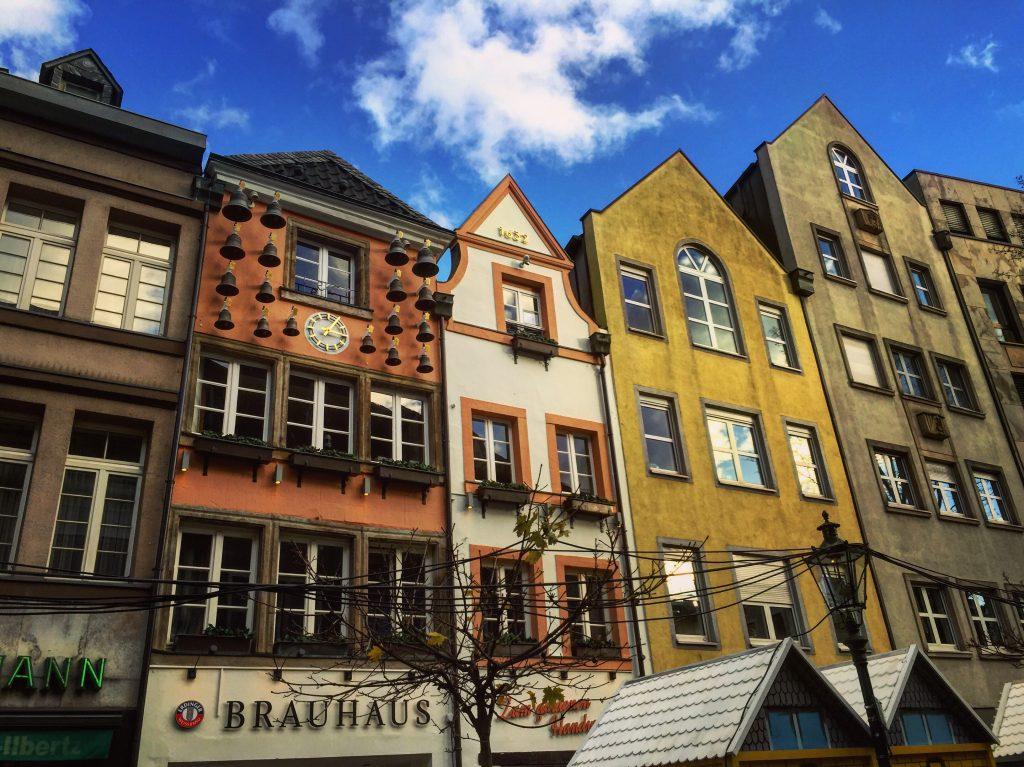 Influence architecturale flamande à Düsseldorf