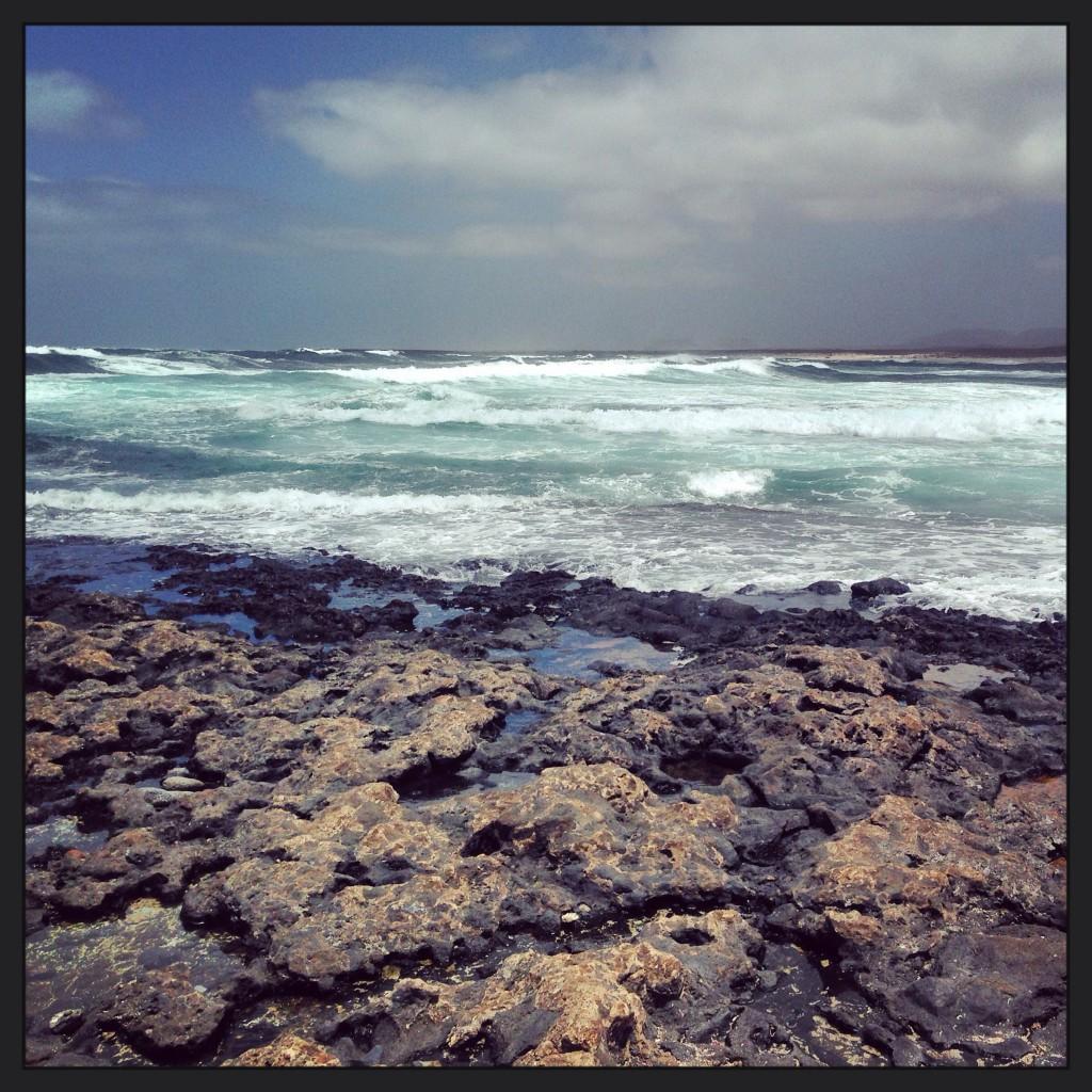 Au Nord-ouest de l'île de Fuerteventura