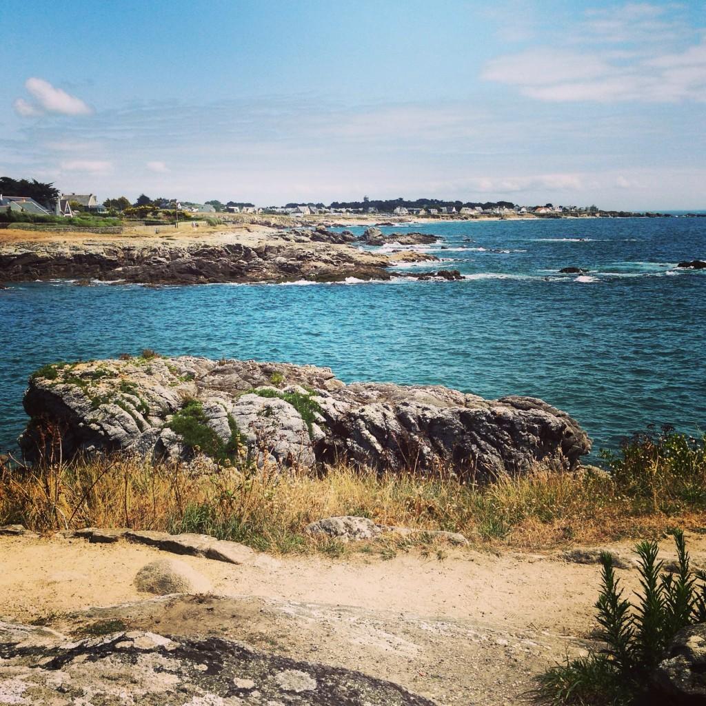 Une côte de granit très découpée, c'est la Bretagne!