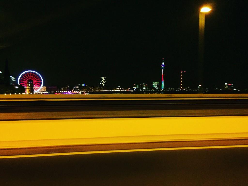 Düsseldorf by night