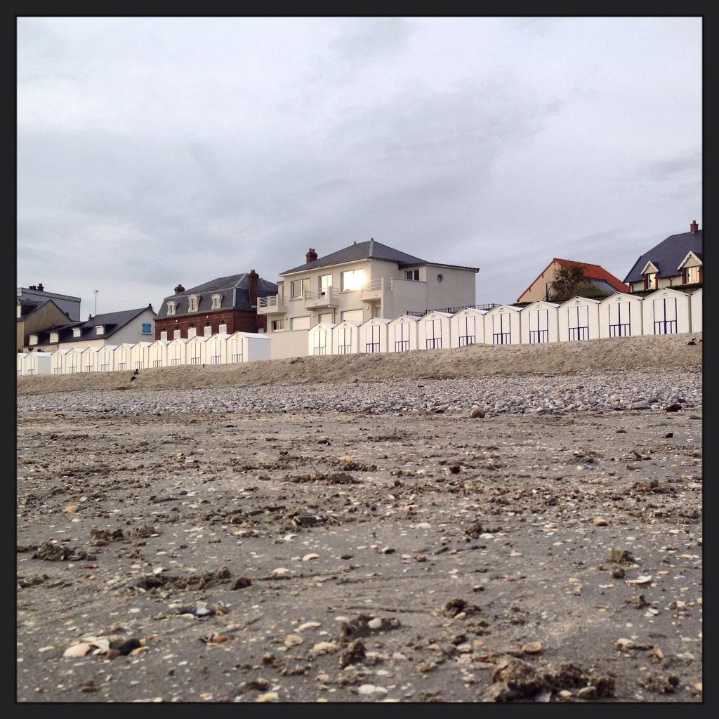 La plage du Crotoy
