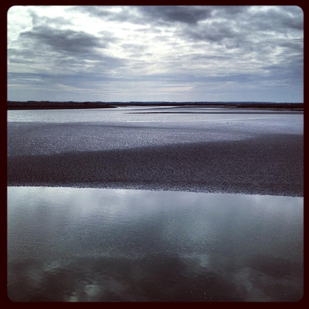 La baie de somme en fin de journée