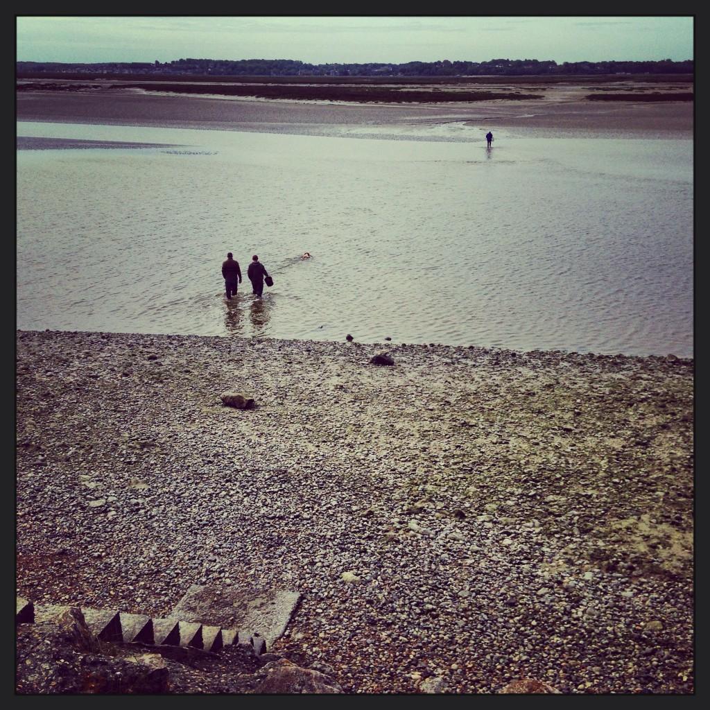 Pêche à pied en baie de Somme