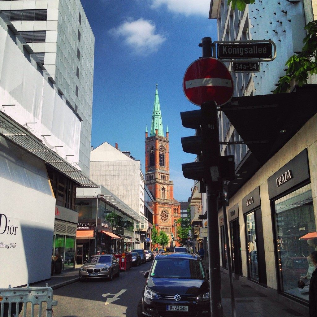 L'hyper centre de Düsseldorf