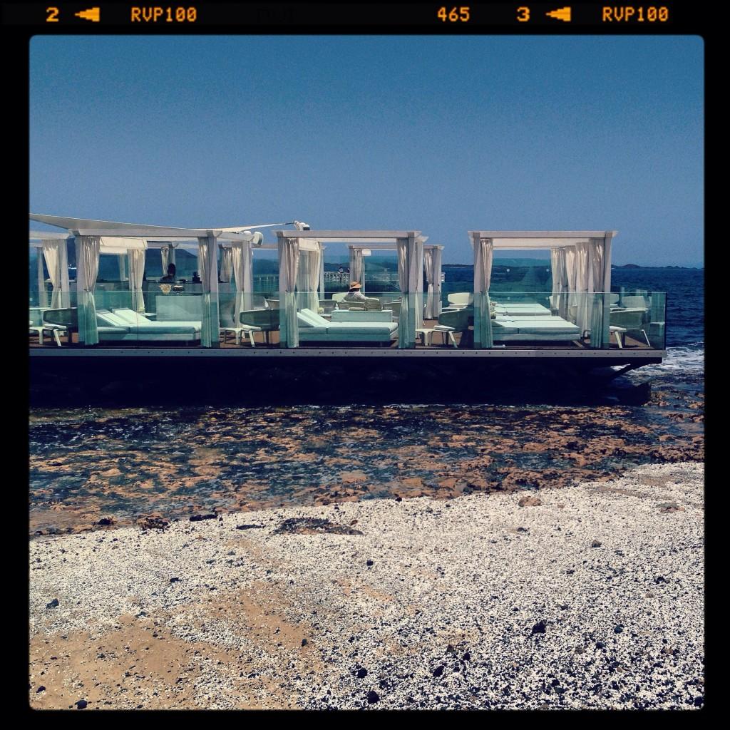 Le Coco Beach à Corralejo, au nord de l'île