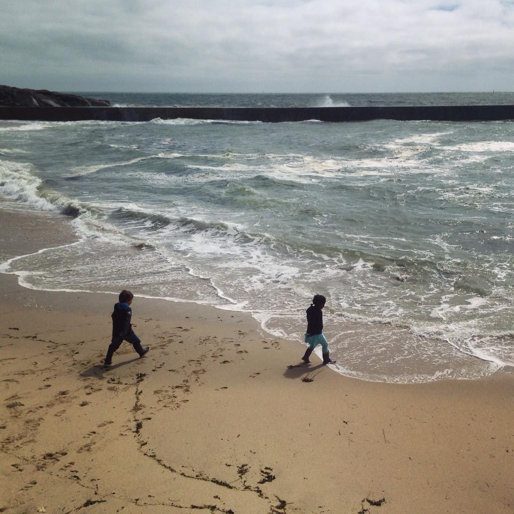 Jeux d'enfants à la plage