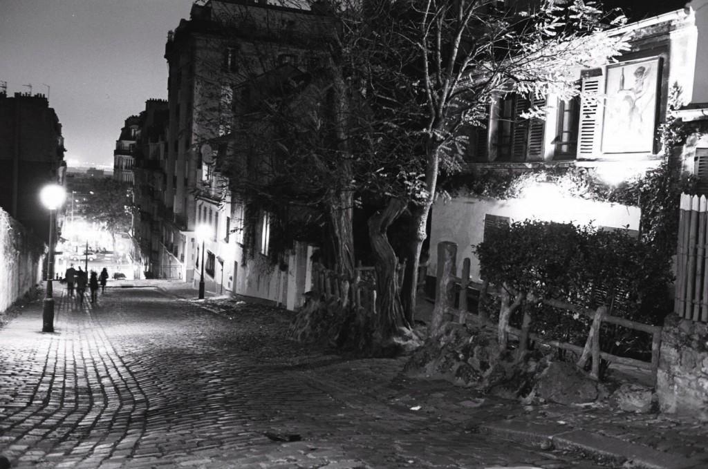 une petite rue pavée comme on les aime